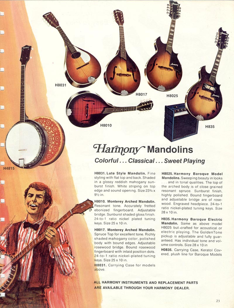 Vintage Harmony H35 (Batwing) Mandolin Thrift Store Find