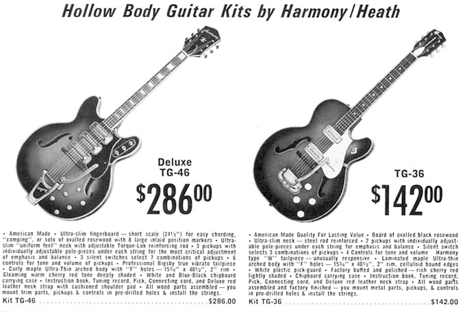 Harmony by Heath - 1968 catalog