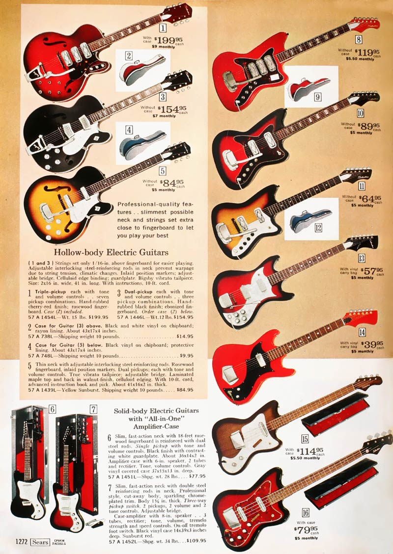 How to Determine the Age of an Antique Silvertone Guitar