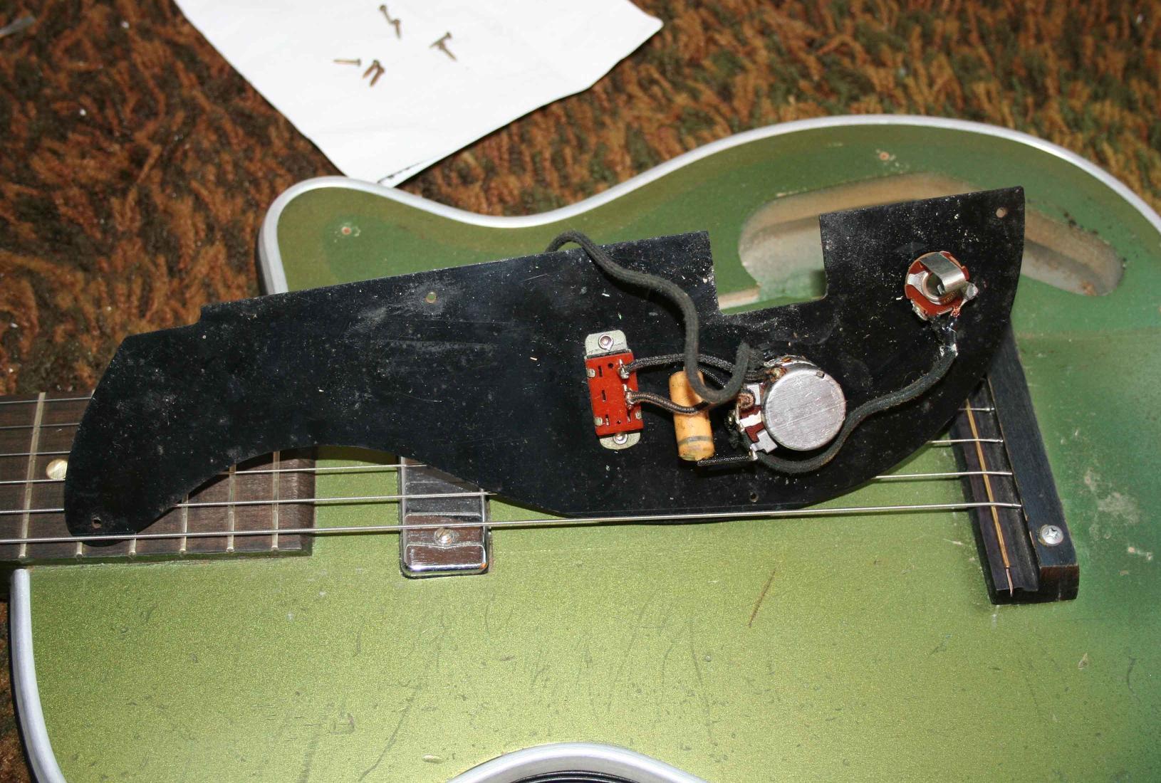 Harmony H42 Newport wiring on