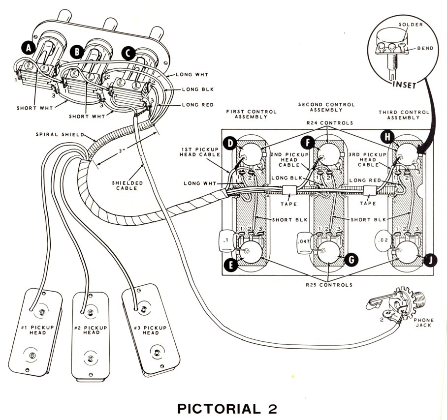 Three Pickup Wiring Diagram - Catalogue of Schemas on