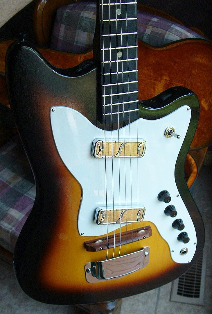 bobkat h15 guitar made by harmony rh harmony demont net Kramer Guitar Wiring 2 Pickup Guitar Wiring