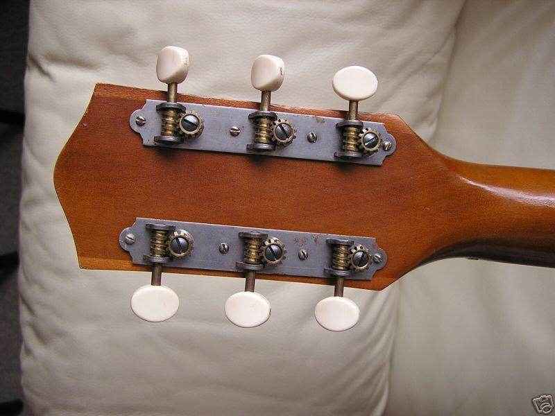 Mahogany H165 Guitar Made By Harmony