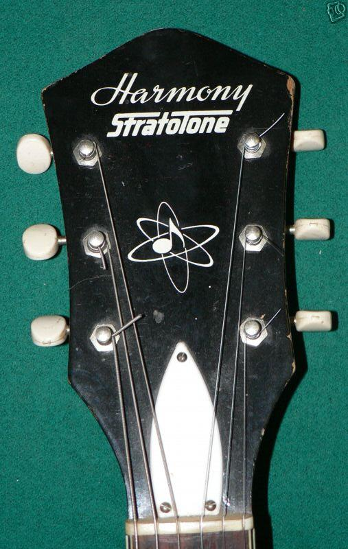 Stratotone Jupiter H49 guitar - made by Harmony on