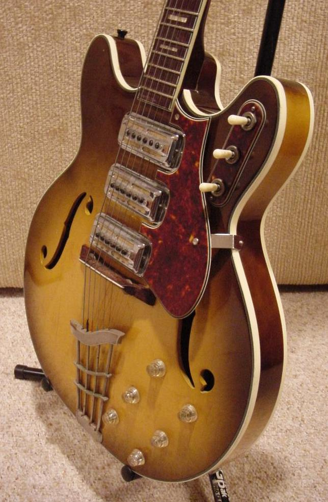 3 pickup H75 guitar - made by Harmony