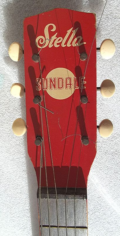 Stella Sundale H907 Guitar Made By Harmony
