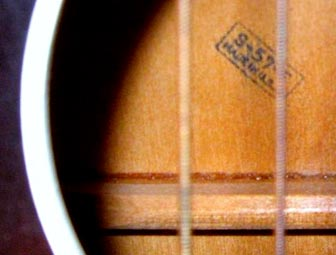 Airline Acoustic Guitar Serial Numbers