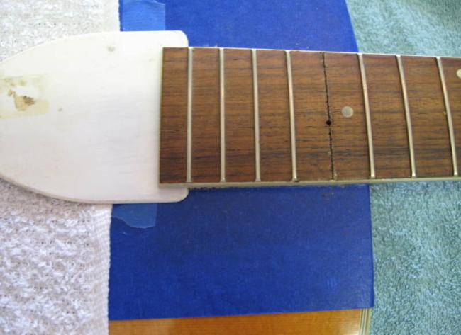 Harmony lutherie : removing neck techniques